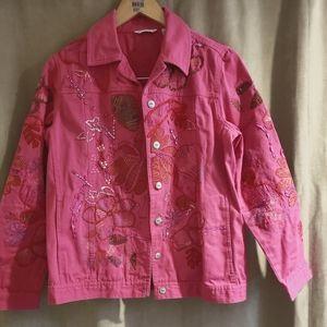 💞🌹Vintage LAURA  ASHLEY denim jacket